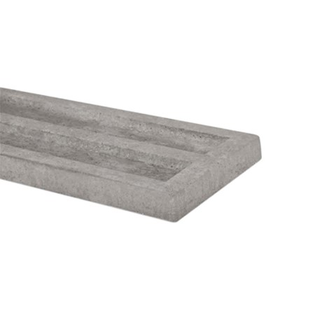 Recessed Concrete Gravel Board